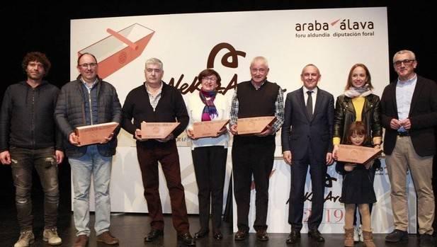 Premios Nekazaraba, todo un reconocimiento a la labor del campo alavés